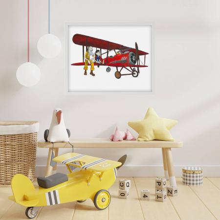 Poster decorativ pentru copii - Micul Print 07 [1]