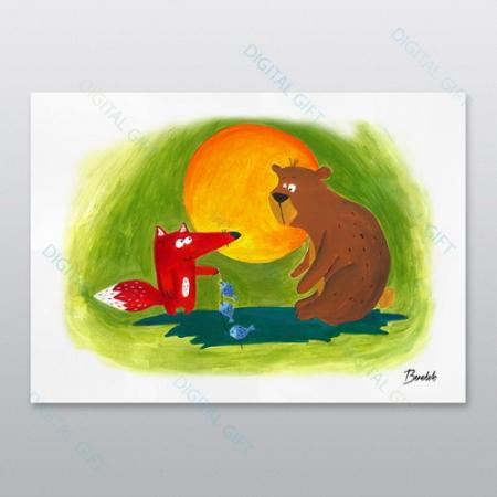 Poster - Ursul păcălit0