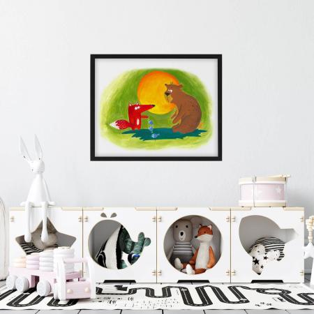 Poster decorativ pentru copii - Ursul pacalit [1]