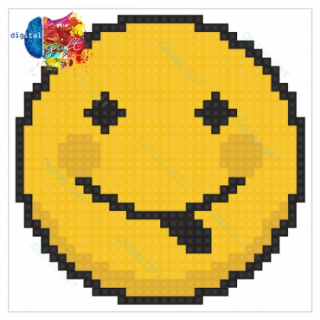 Sacoșă clasică - Emoji 011