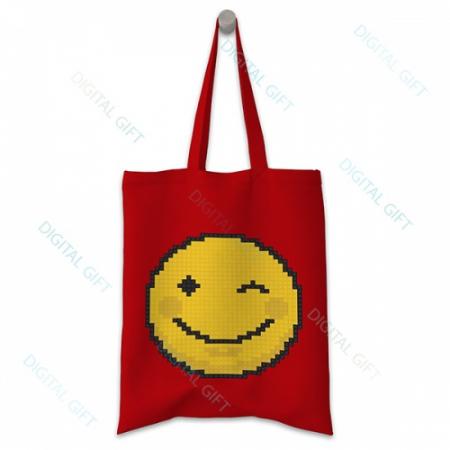 Sacoșă clasică - Emoji 020