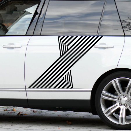 Set de stickere auto - Dungi 3D [1]
