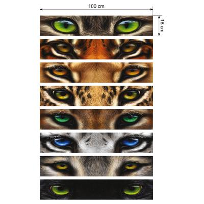 Set de stickere pentru contratrepte - Ochi sălbatici1
