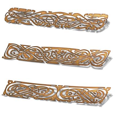 Set de stickere pentru contratrepte - Ornament celtic1