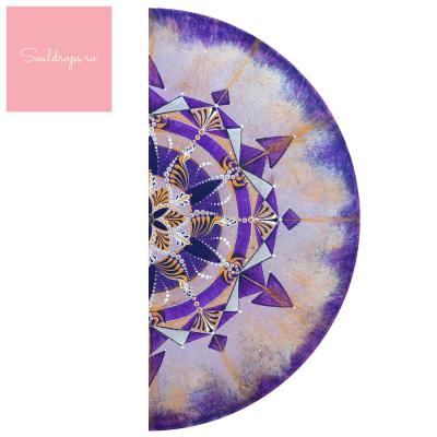"""Sticker demi pentru ușă - Mandala """"Coroana""""1"""