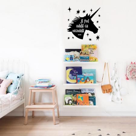Sticker de perete - A fost odata un unicorn [0]