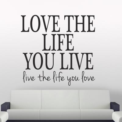 Sticker pentru perete - Love the life0
