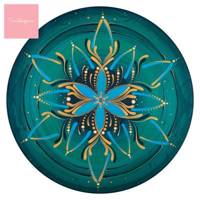 "Sticker pentru perete - Mandala ""Vishuddha""1"