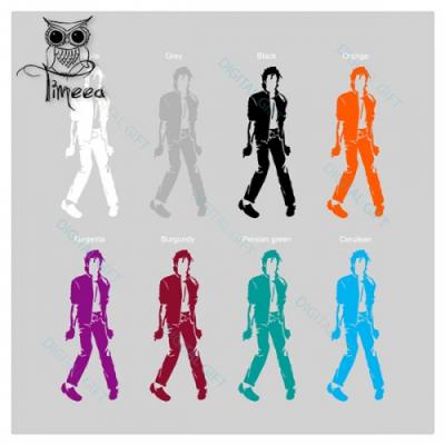 Sticker pentru perete - Michael Jackson2