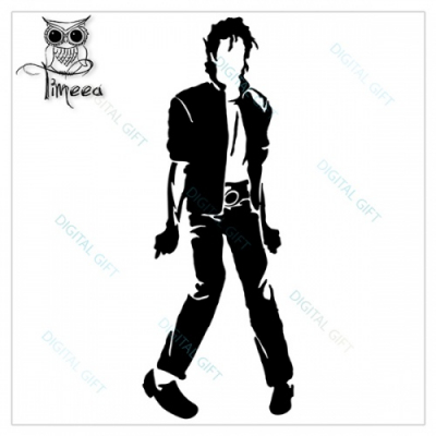 Sticker pentru perete - Michael Jackson1