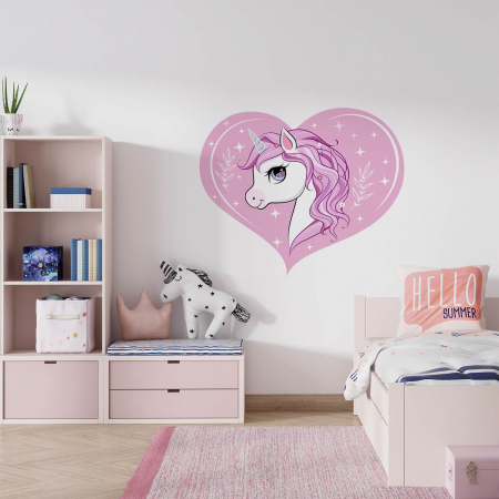 Sticker decorativ de perete - Sunt un unicorn [0]