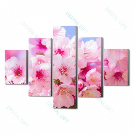 Tablou compus - Explozie de roz [0]