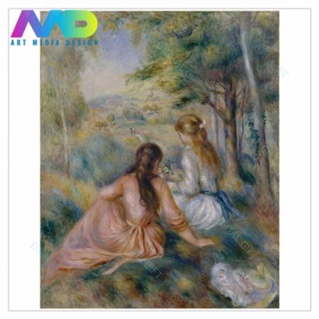 Tablou simplu - Auguste Renoir - În luncă1