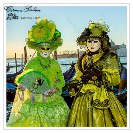 Tablou simplu - Carnaval la Veneția 051