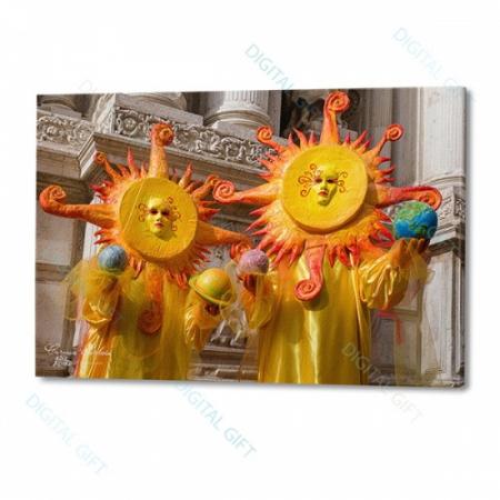 Tablou simplu - Carnaval la Veneția 090