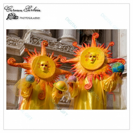 Tablou simplu - Carnaval la Veneția 091