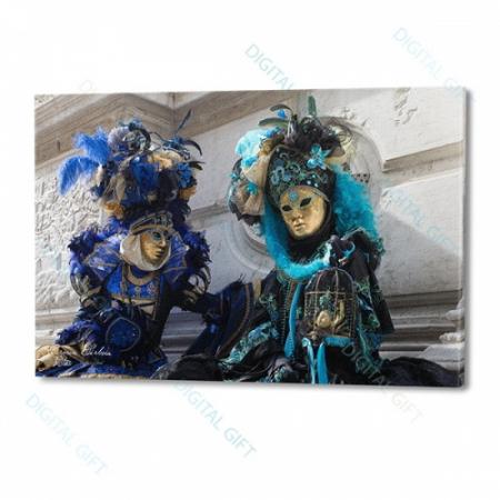 Tablou simplu - Carnaval la Veneția 110