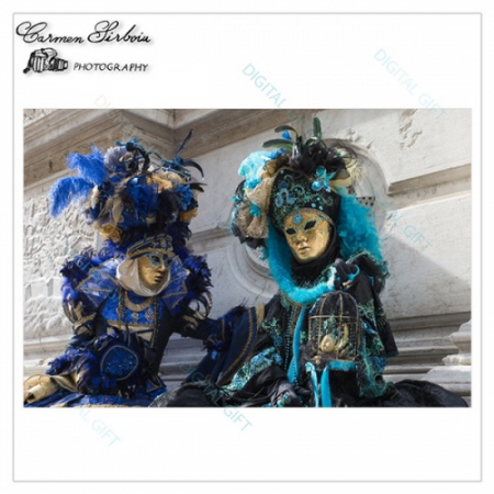 Tablou simplu - Carnaval la Veneția 111
