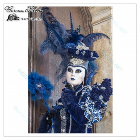 Tablou simplu - Carnaval la Veneția 141