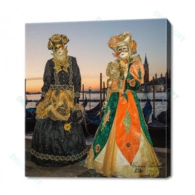 Tablou simplu - Carnaval la Veneția 150