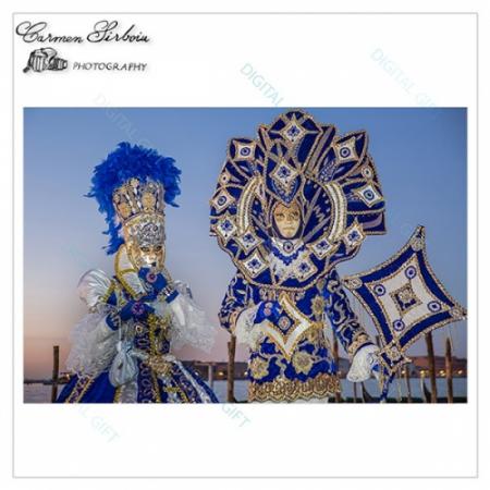 Tablou simplu - Carnaval la Veneția 171