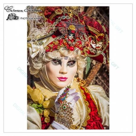 Tablou simplu - Carnaval la Veneția 181