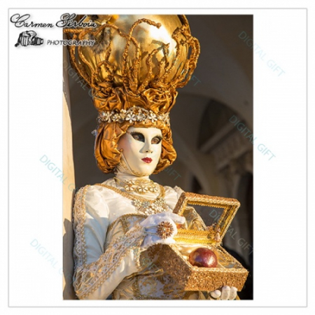 Tablou simplu - Carnaval la Veneția 201