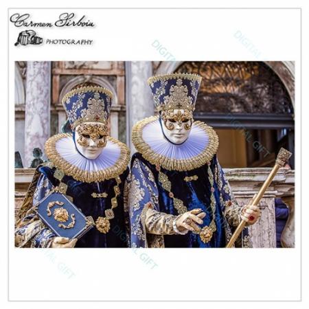Tablou simplu - Carnaval la Veneția 211