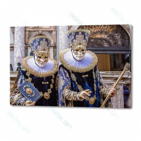 Tablou simplu - Carnaval la Veneția 210