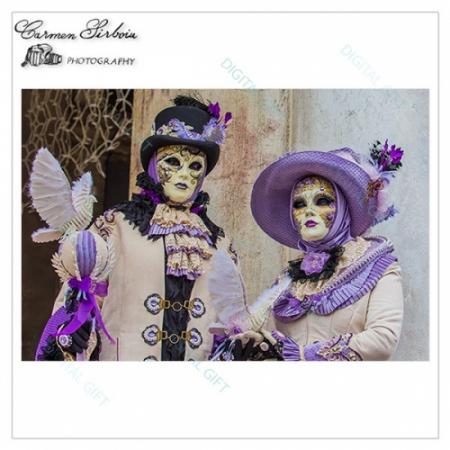 Tablou simplu - Carnaval la Veneția 251
