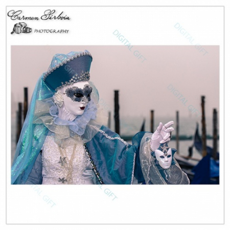 Tablou simplu - Carnaval la Veneția 291