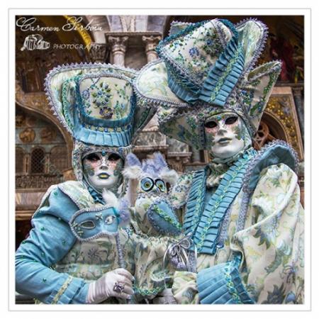 Tablou simplu - Carnaval la Veneția 301
