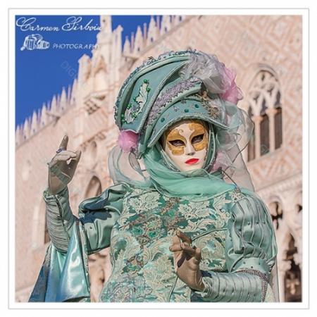 Tablou simplu - Carnaval la Veneția 341