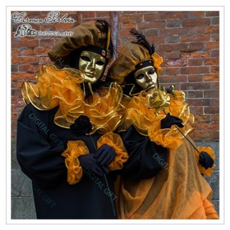 Tablou simplu - Carnaval la Veneția 391