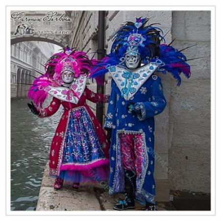 Tablou simplu - Carnaval la Veneția 411