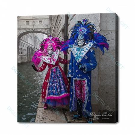 Tablou simplu - Carnaval la Veneția 410