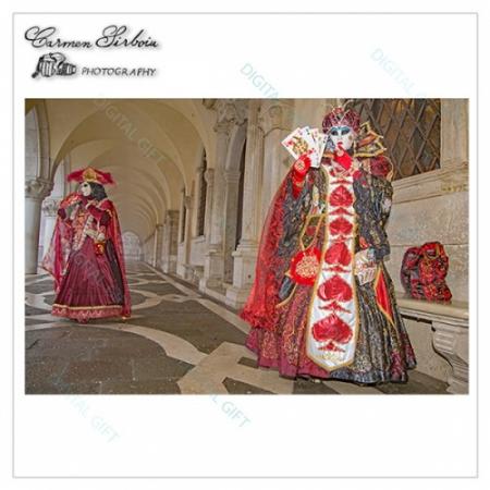 Tablou simplu - Carnaval la Veneția 441
