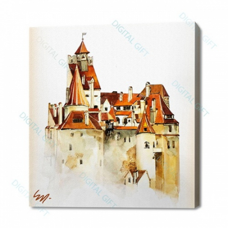 Tablou simplu - Castelul Bran 02 [0]