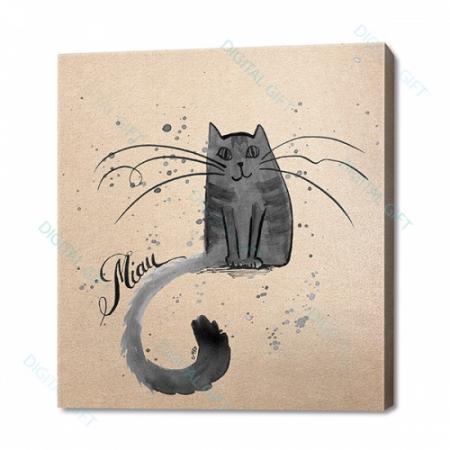 Tablou simplu - Miau, Miau [0]