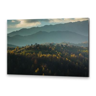 Tablou simplu - Peisaj de toamnă 030