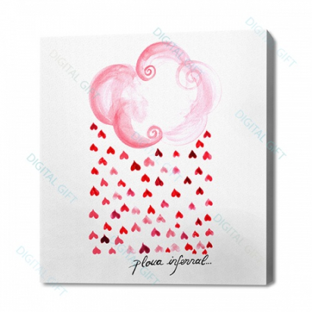 Tablou simplu - Ploua infernal0