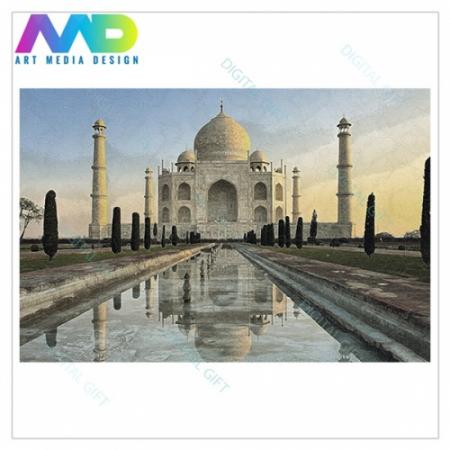 Tablou simplu - Taj Mahal1