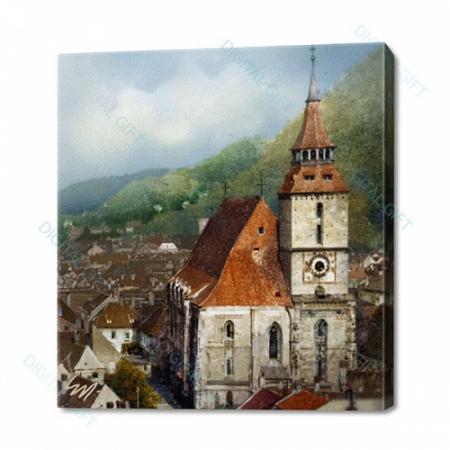 Tablou simplu - Turnul Bisericii Negre, Brașov0