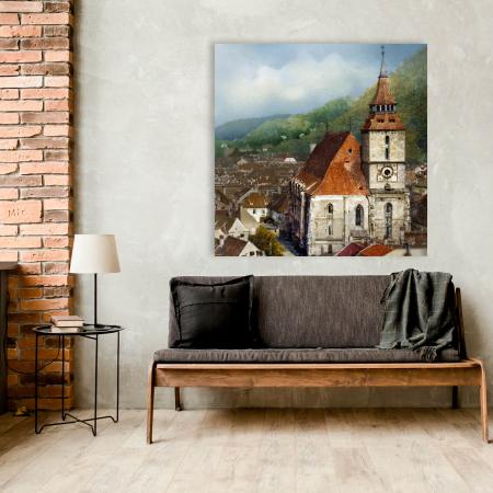 Tablou simplu - Turnul Bisericii Negre, Brașov [1]