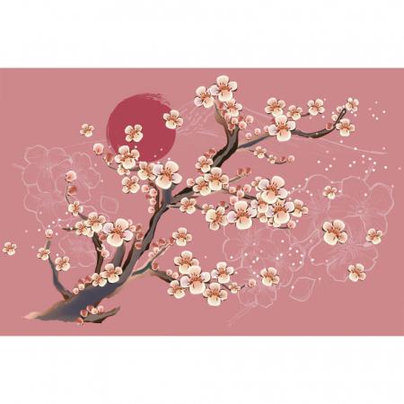 Fototapet - Flori de cires japonez [2]