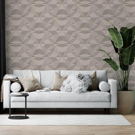 Tapet - Flori geometrice 3D [0]