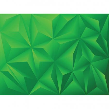 Tapet - Piramide verde 3D [1]