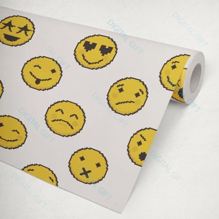 Tapet tip pattern - Emoji2