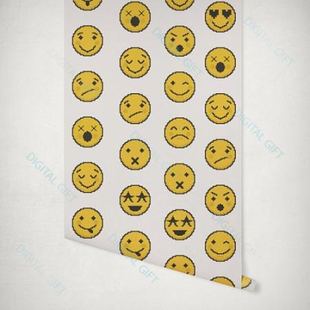 Tapet tip pattern - Emoji1