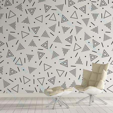 Tapet tip pattern - Geometrie0